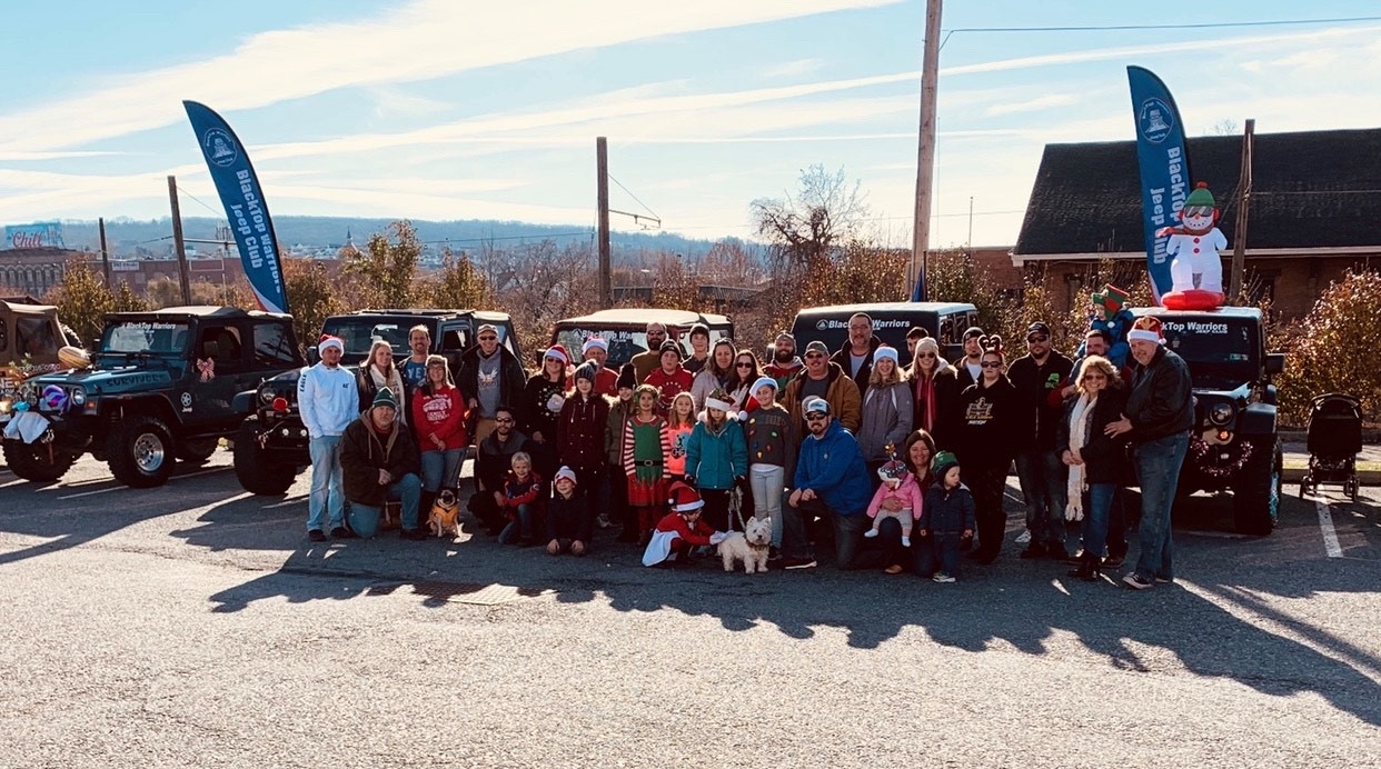 Sponsors In The Wilkes Barre Christmas Parade 2020 BlackTop Warriors Jeep Club   Creating Lifelong Memories in NE